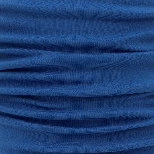 fine bamboo rib jersey blue